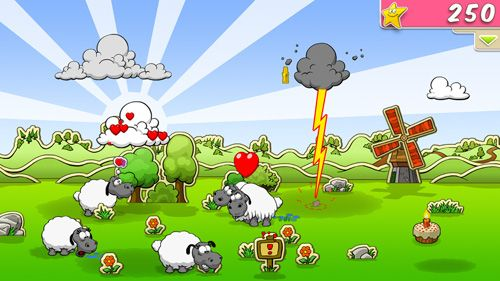 Clouds & sheep for iPhone