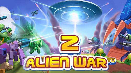 Tower defense: Alien war TD 2 capture d'écran 1