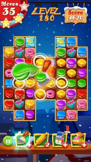 Cookie blast: Christmas para Android