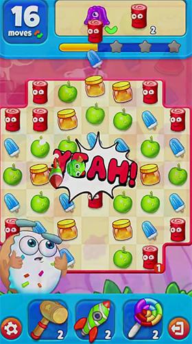 Arcade Sugar heroes: World match 3 game! für das Smartphone