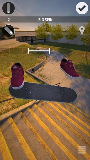 Simulation Skater für das Smartphone