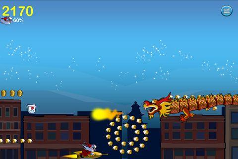 Screenshot Go Go Santa auf dem iPhone