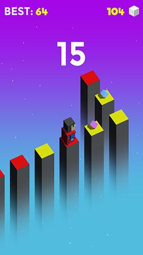 Jump cube auf Deutsch