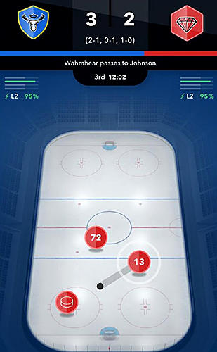 World hockey manager скриншот 3