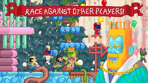 Runner games Rerunners: Race for the world in English