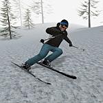Alpine ski 3 ícone