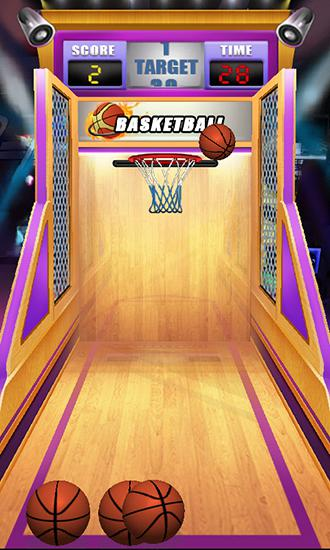 Basketball: Shoot game captura de tela 3