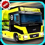 Driving simulator: Truck driver Symbol