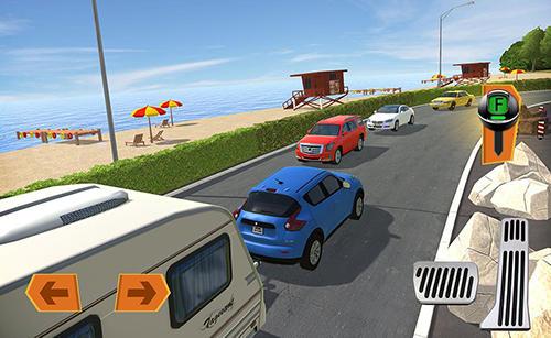 Camper van truck simulator auf Deutsch
