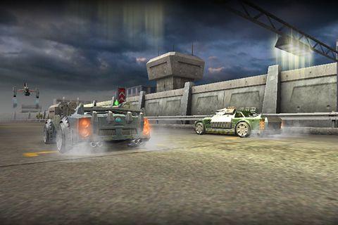 Гонки: Battle riders на телефон iOS