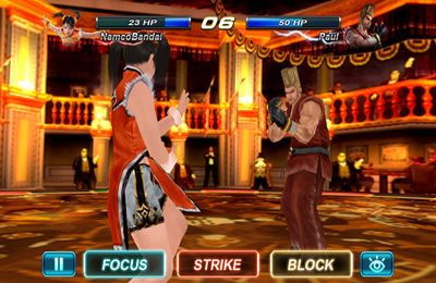 Tekken Card Tournament for iPhone for free