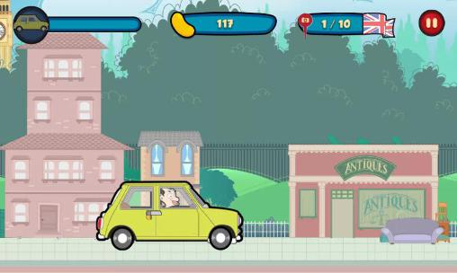 Runner games Mr Bean: Around the world in English