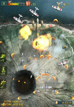 Screenshot iFighter 2: The Pacific 1942 by EpicForce on iPhone