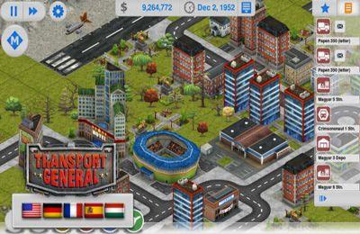 Screenshot Transport Manager auf dem iPhone