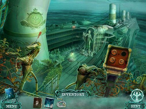 Abenteuer The cursed ship für das Smartphone