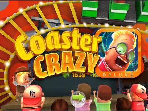 logo Coaster Crazy Deluxe