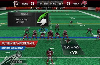 Simuladores: faça o download de O futebol americano NFL 25 para o seu telefone