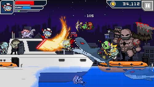 Hero-X: Zombies! captura de pantalla 1