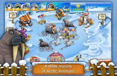 Lustige Farm 3 - Eisgebiet für iPhone