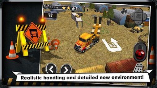 Trucks Construction: Trucker parking simulator auf Deutsch