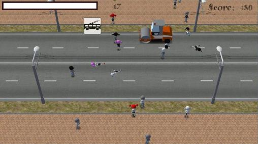 Crossing road for Android