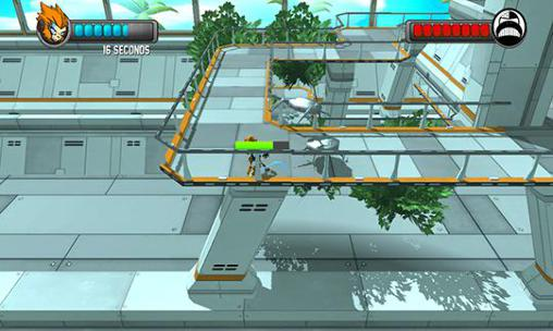 Action games Ape of steel for smartphone