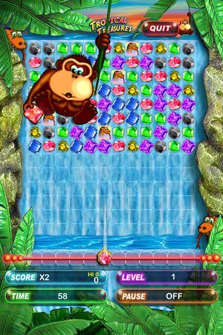 Arcade-Spiele: Lade Tropische Schätze: Taschen Edition auf dein Handy herunter
