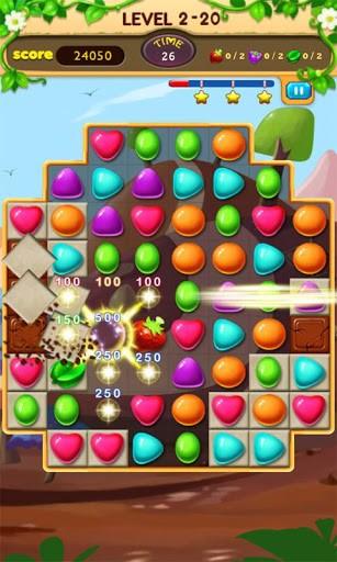 Arcade Candy journey für das Smartphone