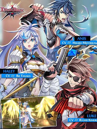 RPG-Spiele Dawn break: The flaming emperor für das Smartphone
