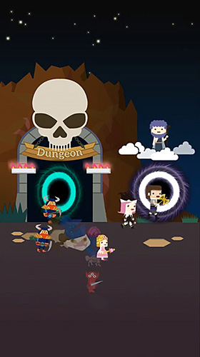 Infinity dungeon 2: Summon girl and zombie für Android