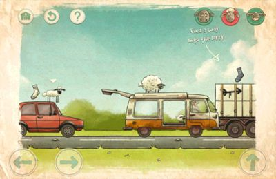 Arcade games: download Home sheep home 2 to your phone