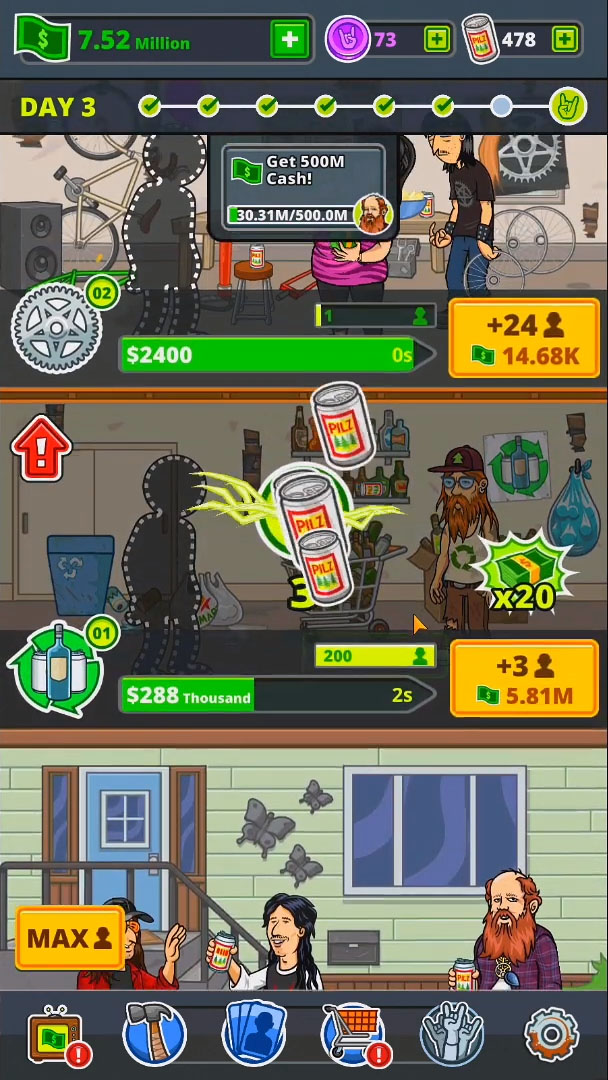 Fubar: Just Give'r - Idle Party Tycoon for Android