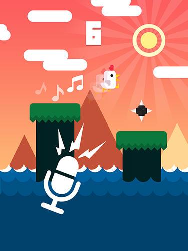 Arcade Chicken scream für das Smartphone