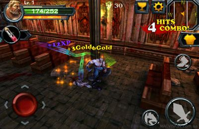 Multiplayer games: download Blade of Darkness to your phone
