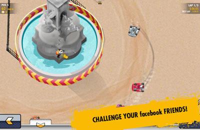 Скриншот Рэл Булл картинг 3 - Непобедимые трассы на Айфон