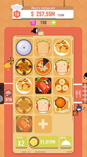 Merge food: World dish journey для Android