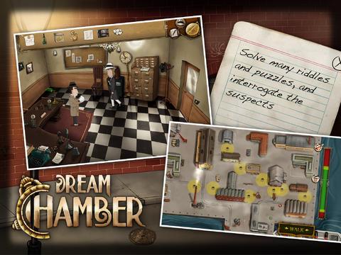 Screenshot Traumkammer auf dem iPhone