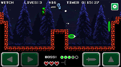 Soul chase: Retro action pixel platformer screenshot 4