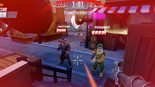 Heroes of warland: PvP shooting arena screenshot 1
