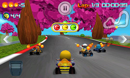Pac-Man: Kart rally скріншот 1