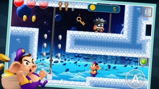 Arcade-Spiele: Lade Mutiges Ferkel auf dein Handy herunter