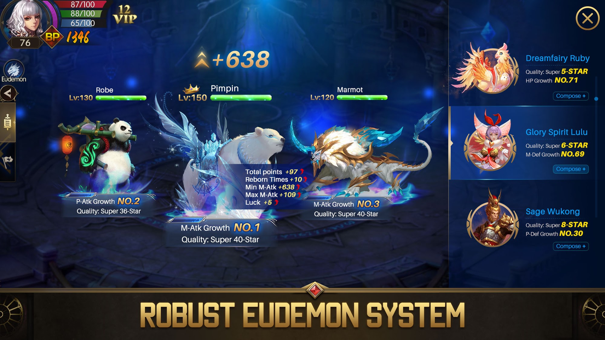 Eudemons M: Fantasy of Legends for Android