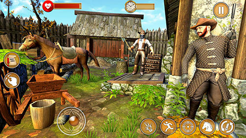 Western cowboy gun shooting fighter open world für Android