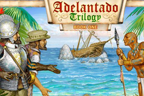 логотип Трилогия Аделантадо. Книга первая