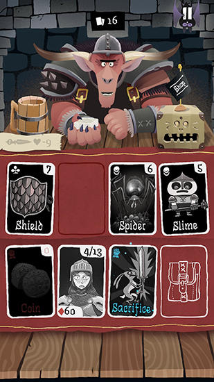 Card crawl для Android