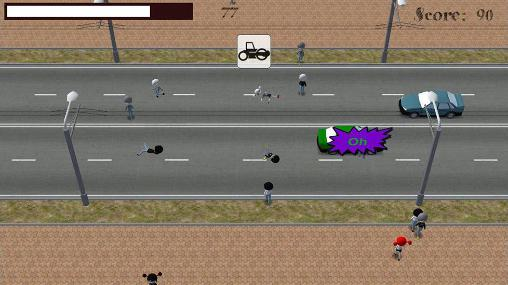 Arcade games Crossing road for smartphone