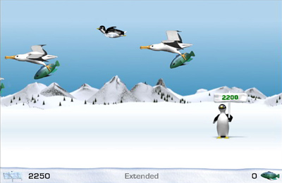 Screenshot Yeti-Sport auf dem iPhone