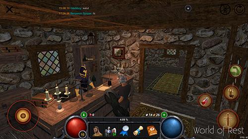 RPGWorld of rest: Online RPGдля смартфону