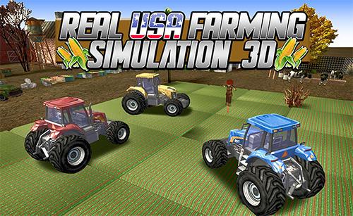Real USA farming simulation 3D скриншот 1