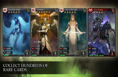Multiplayerspiele: Lade Helden von Camelot auf dein Handy herunter